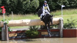Nicola Wilson competing at Burgham International Horse Trials, Image credit Action Replay Photography.