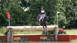 Oliver Townend competing at Burgham International Horse Trials image credit Action Replay Photography