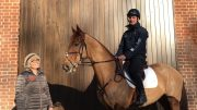 Childeric Saddles Tricia Bracegirdle With James Avery