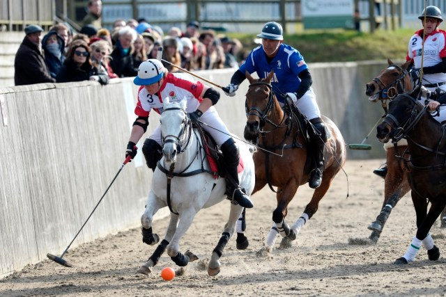 England are hoping to continue their winning streak in the International Arena Polo Test Match at Hickstead. Image (c) Images of Polo