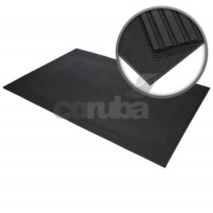 Coruba rubber matting - Hammered Rubber Stable Mats