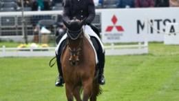 Emily Gilruth riding Topwood Beau GBR Dressage. ©Kit Houghton/Mitsubishi Motors