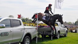 Emily Gilruth riding Topwood Beau GBR © Mitsubishi Motors Badminton Horse Trials/Kit Houghton