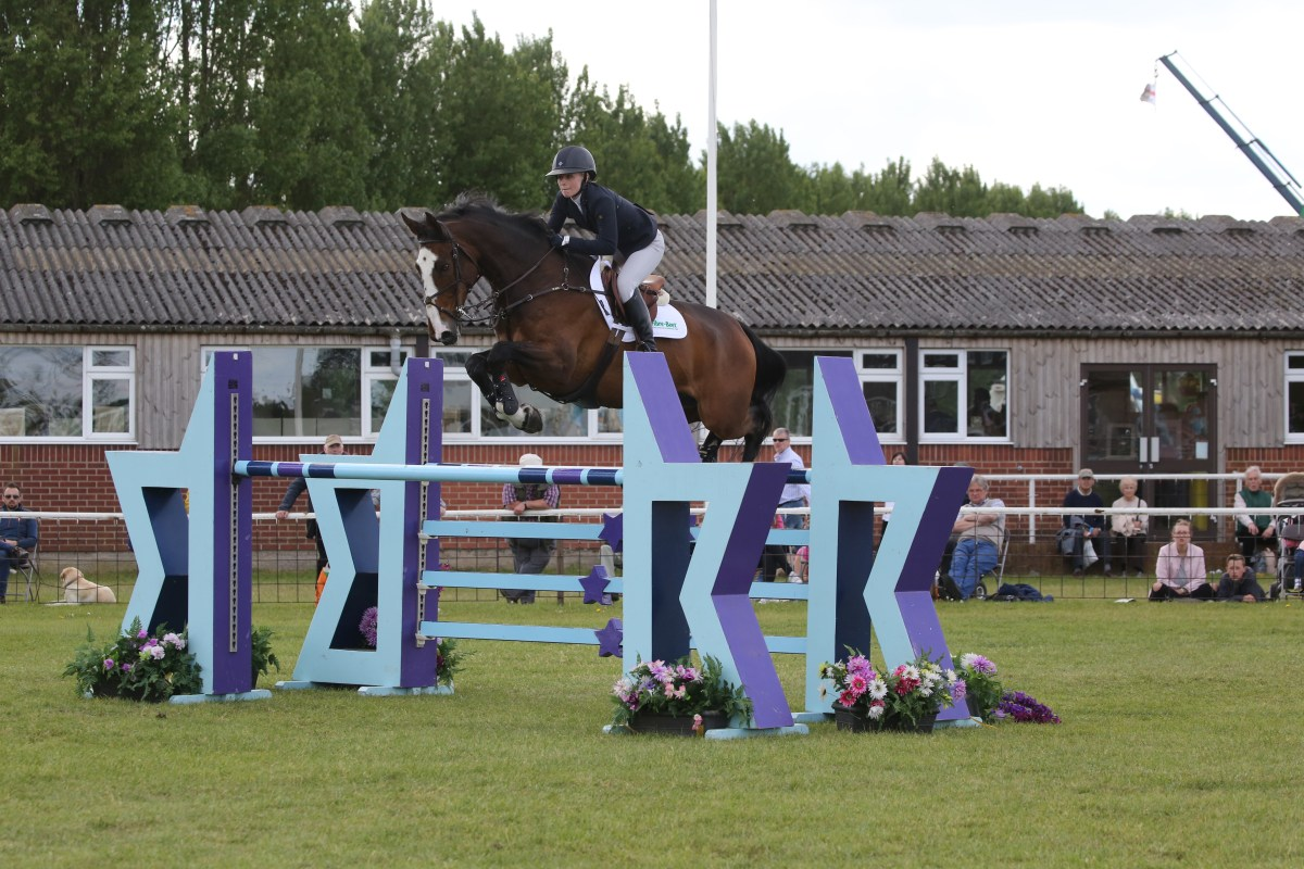 How to ride a great jump off with Pippa Allen
