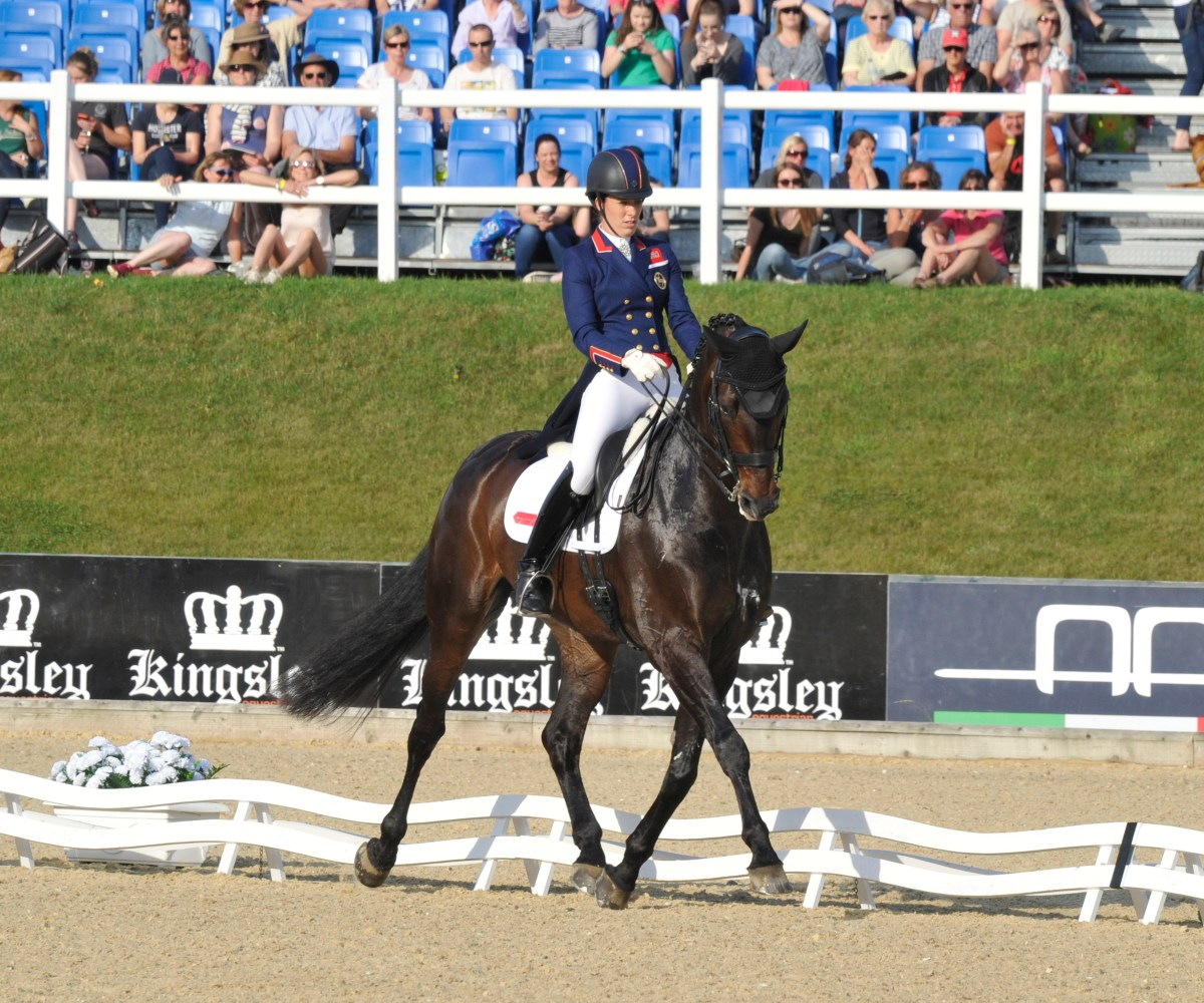 Charlotte Dujardin Takes The Honours at Bolesworth