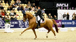 Denmark's Cathrine Dufour and Atterupgaards Cassidy produced a superb test to win the first leg of the FEI World Cup™ Dressage 2017/2018 Western European League on home ground in Herning (DEN) today. (FEI/Everhorsephoto.com)