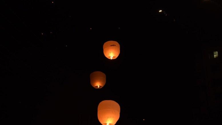 RSPCA Cymru Warns on Dangers of Sky Lanterns