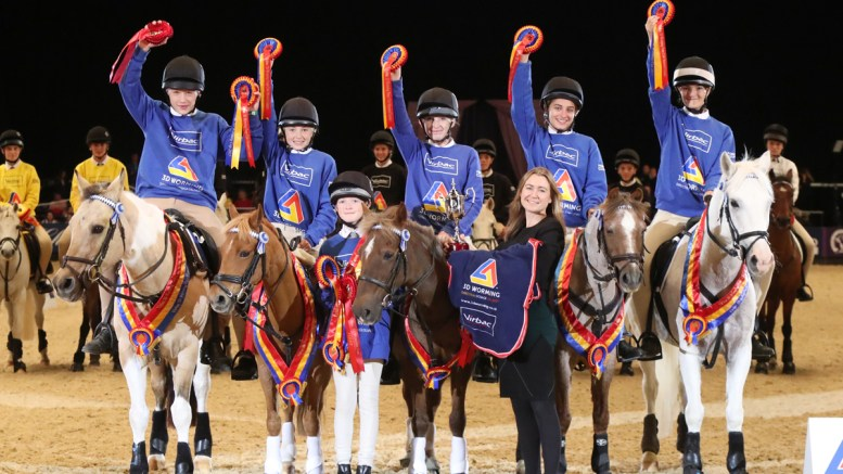 Oakley Hunt West win the Virbac 3D Worming Pony Club Mounted Games Cup Image credit: 1st Class Images