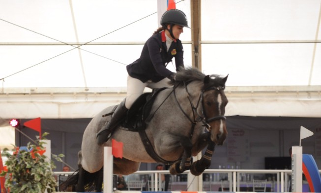 Faye Sutton Makes Dreams Come True at HOYS
