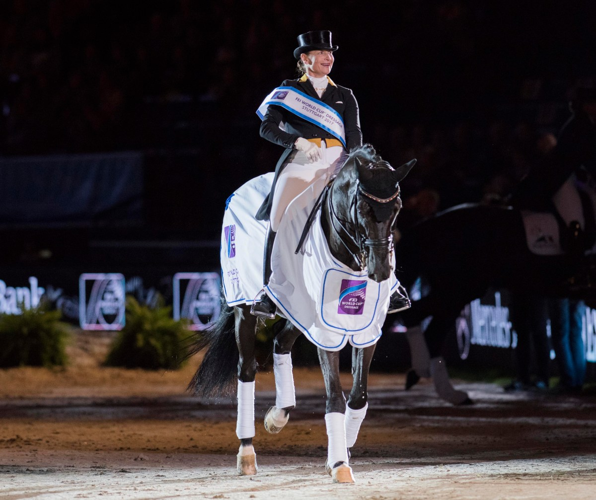 Isabell Werth and Weihegold head home-side whitewash at Stuttgart