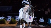 Isabell Werth (GER) rides Weihegold OLD in the LONGINES FEI World Cup™ Dressage Stuttgart, Germany. Nov 18th 2017 Photo FEI/Cara Grimshaw