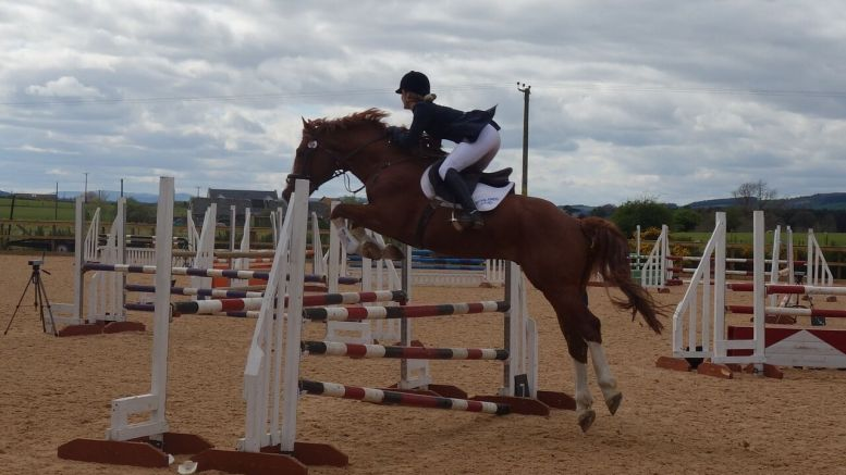 Thirteen Pleasing Passes for The Pony Club A Test Candidates - Camilla Ramsoy and Classic Scott
