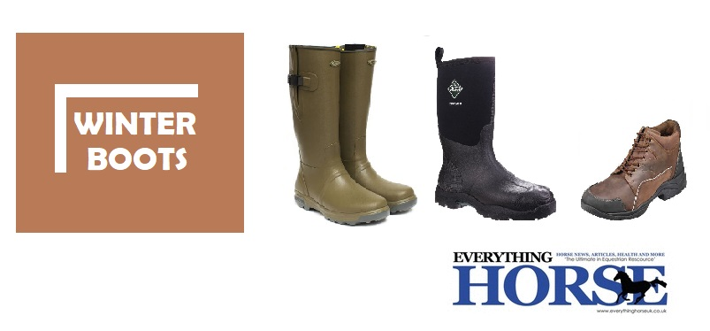 Winter Boots for the Equestrian