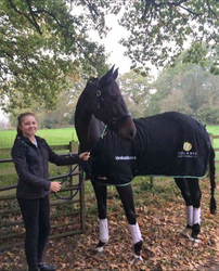 Ideal Combined Training Series - Sophia Maston who will be heading to the Final with her mother's horse Solitaire
