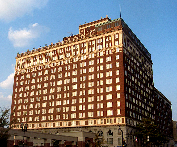 The Brown Hotel, Louisville, KY. Image source Wikipedia