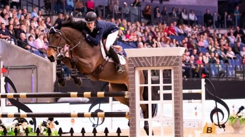 Harry Charles riding Doulita Liverpool International Horse Show