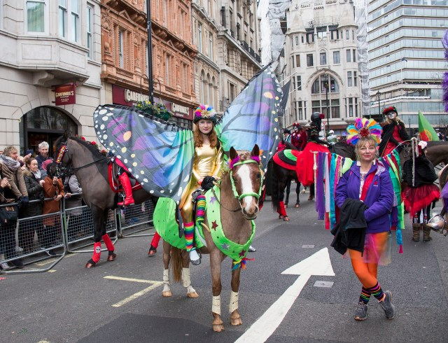 Even ponies get to go big in costume. photo by Jo Monck