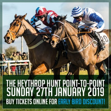 Heythrop Point-to-Point at Cocklebarrow