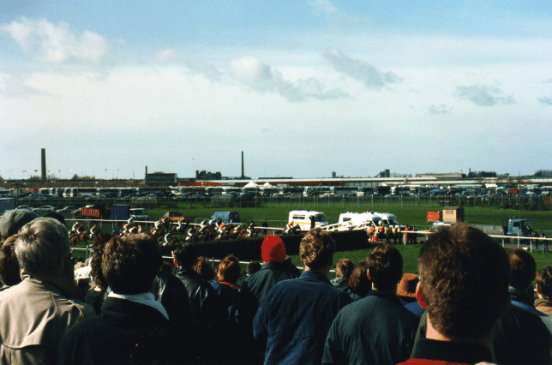 """The Grand National""""Aintree Racecourse and the Grand National have a storied history"""" (CC BY-SA 2.0) by David Holt London"""