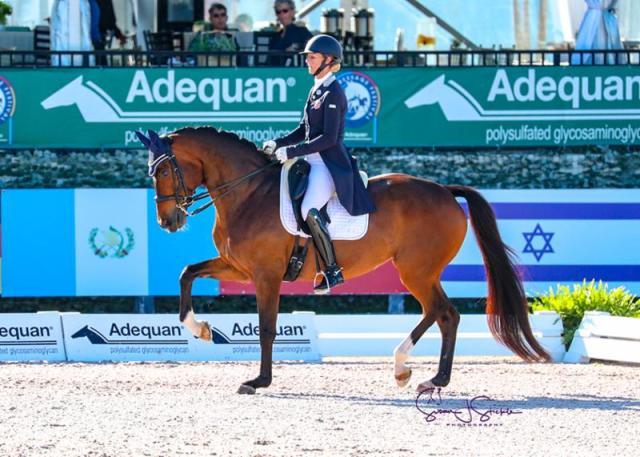 Heather Blitz and Semper Fidelis in their winning test. ©SusanStickle.com.