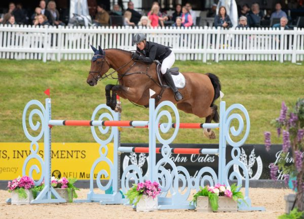 Holly Smith (GBR) & Hearts Destiny riding to win the Lord & Lady Equestrian - CSI4* - 1.50m - The Equerry Bolesworth International Horse Show 2019