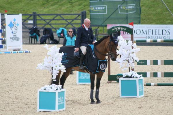 John Whitaker and Argento Bolesworth International Horse Show