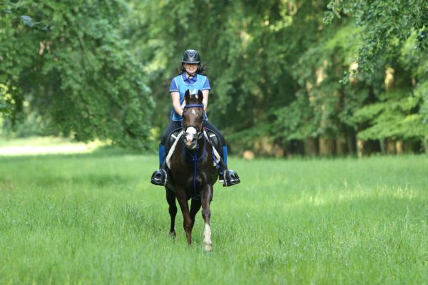 Endurance GB's Young Rider Champion 2019 Suffolk's Maddie Pomroy