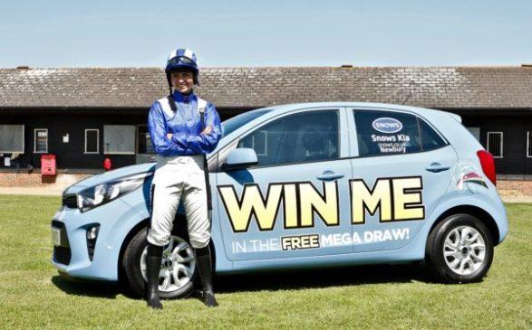 bryony foster win a car arabian racing