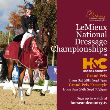LeMieux British Dressage National Championships is set to attract the very best horses and riders to Stoneleigh Park in Warwickshire.