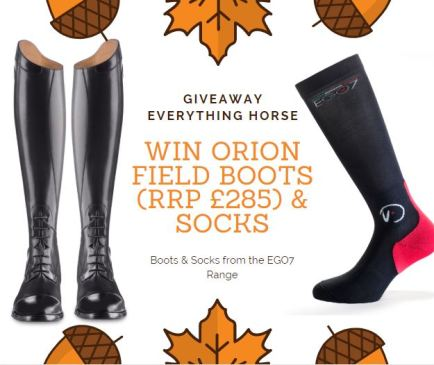 WIN - EGO7 Orion Field Boots