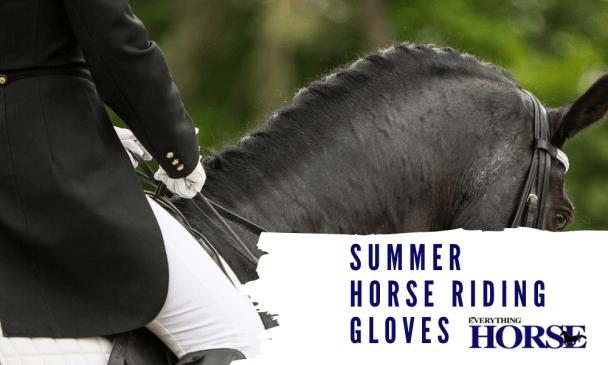 Summer Horse Riding Gloves