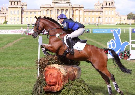 Zara Phillips riding High Kingdom at Blenheim by Fiona Scott-Maxwell