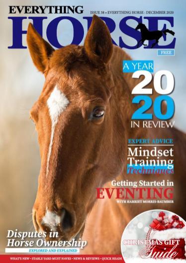 Everything Horse Magazine Cover December 2020