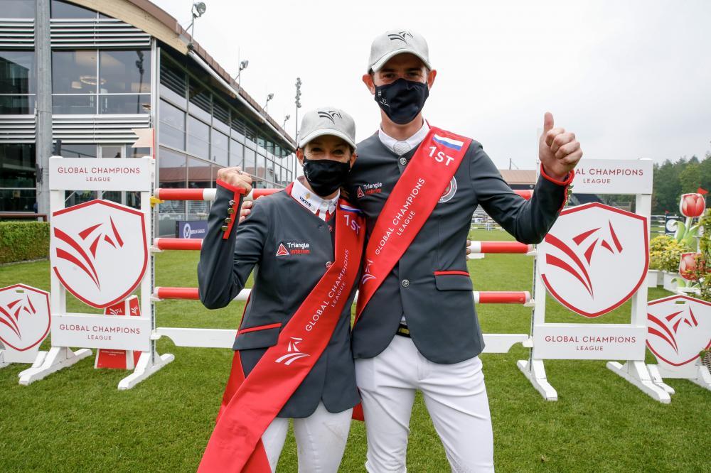 Monaco Aces Jos Verlooy and Laura Kraut. Photo GCL