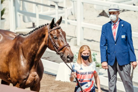 Ros Canter and Allstar B (FEI/Christophe Taniere)