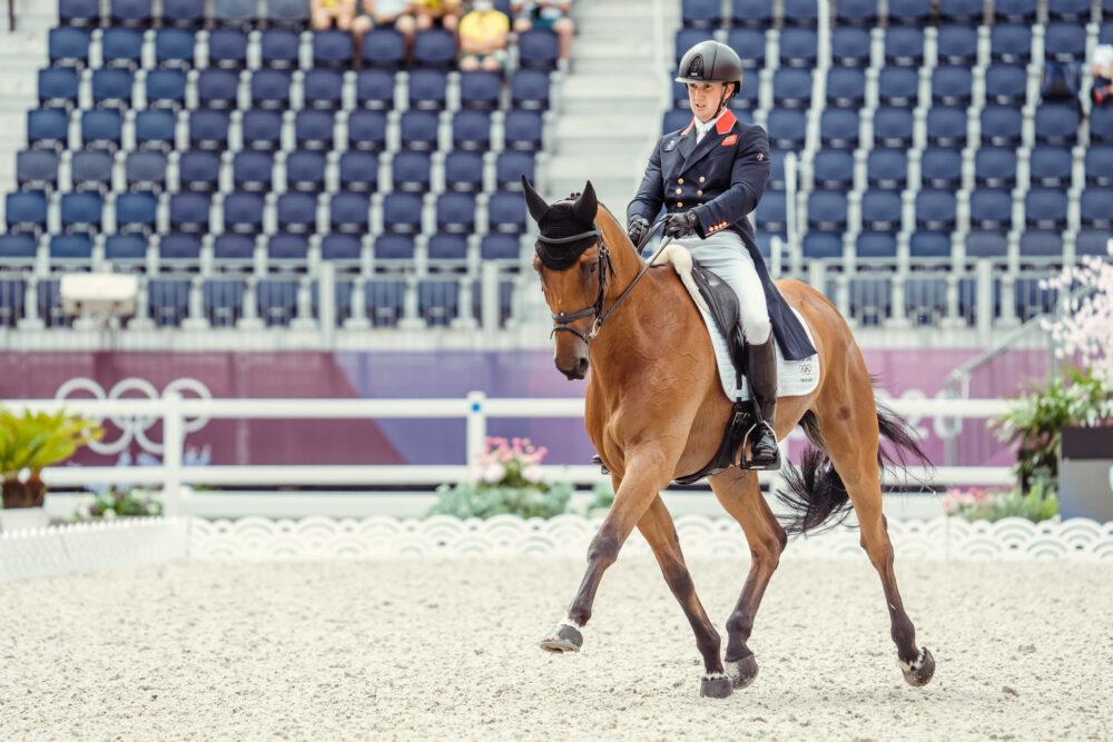 om McEwen riding Toledo Der Kerser (FEI/Christophe Taniere)