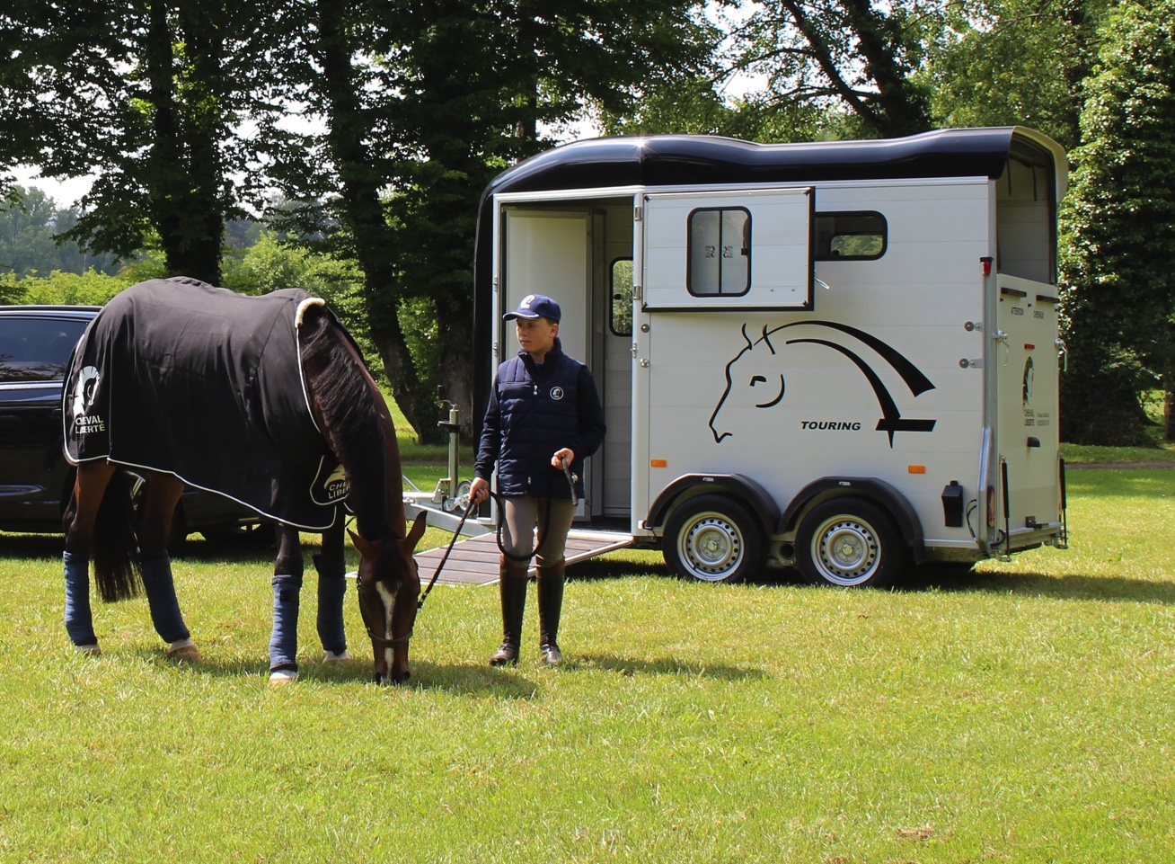 Win a horsebox with Cheval Liberte