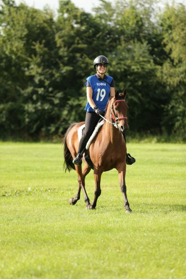 Emotional win for Leicestershire rider Fiona Videla with Charlie in the FEI 1*100km class back after double hip surgery