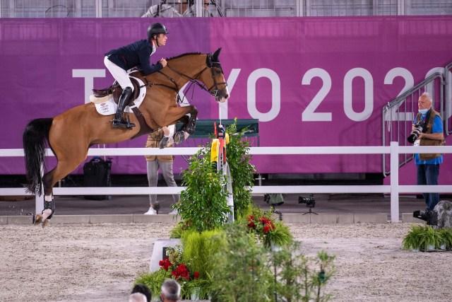 Scott Brash (GBR) & Jefferson - Jumping - Individual Qualifier - Equestrian Park, Setagaya City, Tokyo. Image Jon Stroud Media
