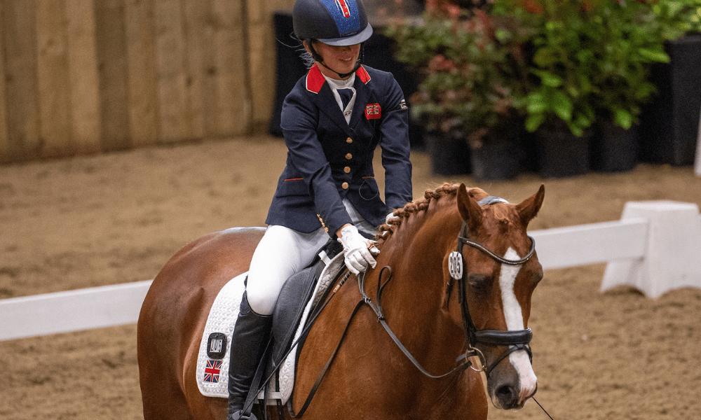 Georgia Wilson and Sakura (British Equestrian / Jon Stroud Media)