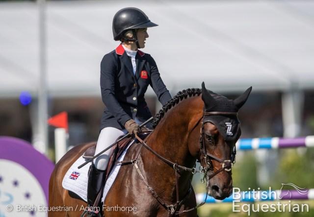 Georgia Tame and Z7 Ascot. credit British Equestrian / Adam Fanthorpe