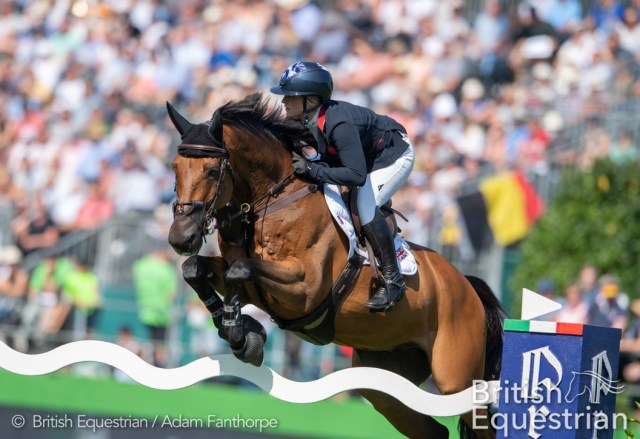 Emily Moffitt. image credit British Equestrian / Adam Fanthorpe