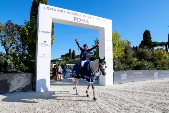Ben Maher and Olivier Robert Make History with Joint Lead - image Ben Maher and Olivier Robert Make History with Joint Lead - Ben Maher and Olivier Robert. Photo: Longines Global Champions Tour