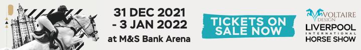 Liverpool International Horse Show 2021 banner