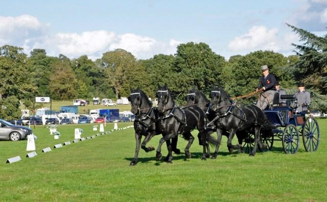 Bennington Carriages Driving at Osberton International Horse Trials