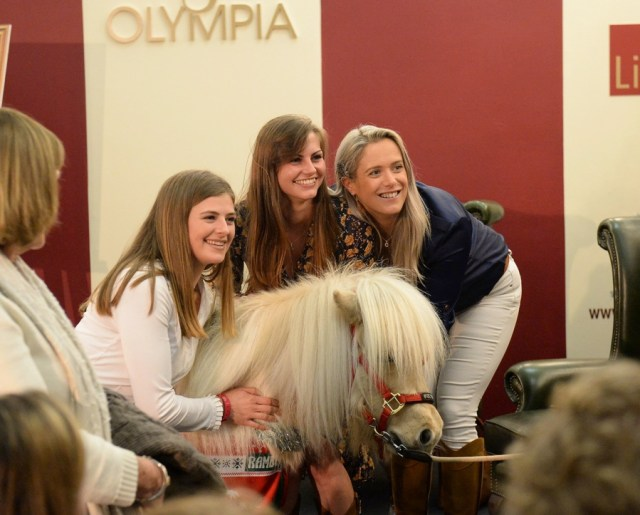 This Esme joins industry peers at The London International Horse Show