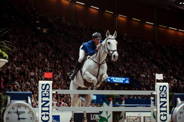 Five time Olympian Peder Fredricson (SWE) has risen to the top of the Longines World Rankings. (FEI/Christophe Taniere)