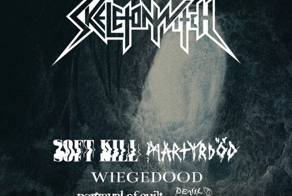Skeletonwitch Louder Than Light Tour 2019