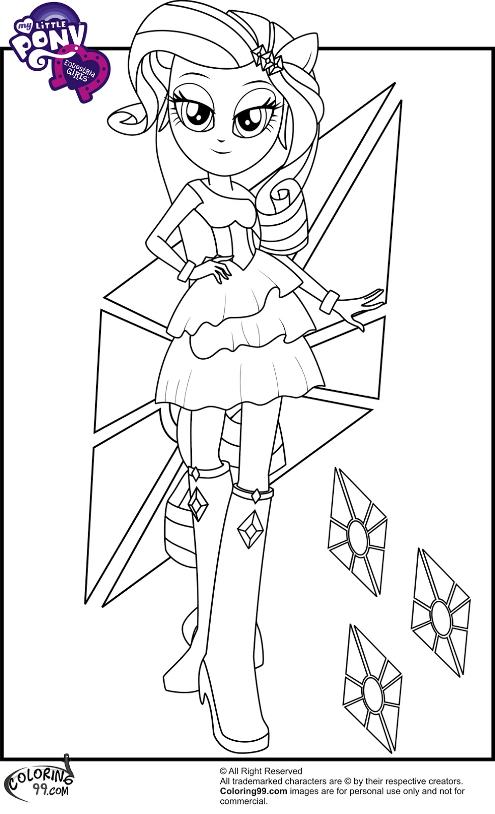 my little pony coloring pages everythingkool