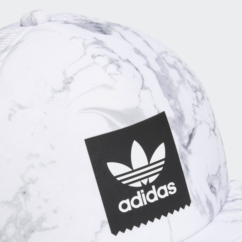 Marble trucker cap by Adidas